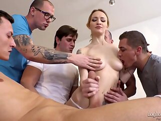 Nuvid anal blonde double penetration
